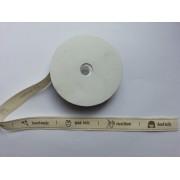 Бирка Hand made лента из ткани
