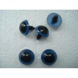 Глазки для игрушек голубые без фиксатора