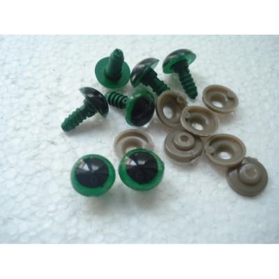 Глазки кукольные живой взгляд зеленые