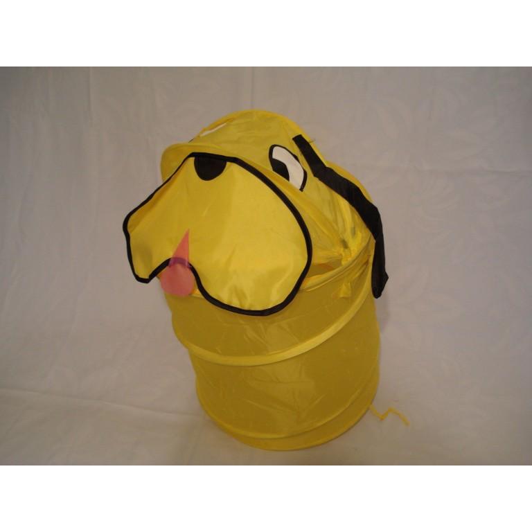 Корзина для игрушек конус Собачка
