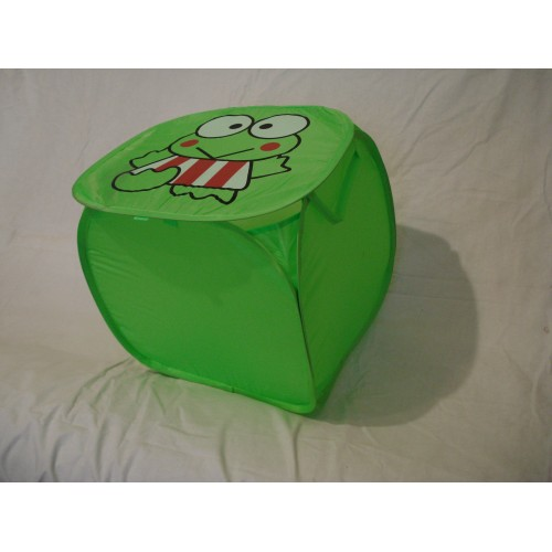 Корзина для игрушек Жучек мини зеленая