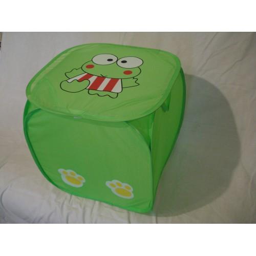 Корзина для игрушек Зеленый жучок