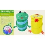 Корзина для игрушек в виде животных лягушка 48 на 36 см