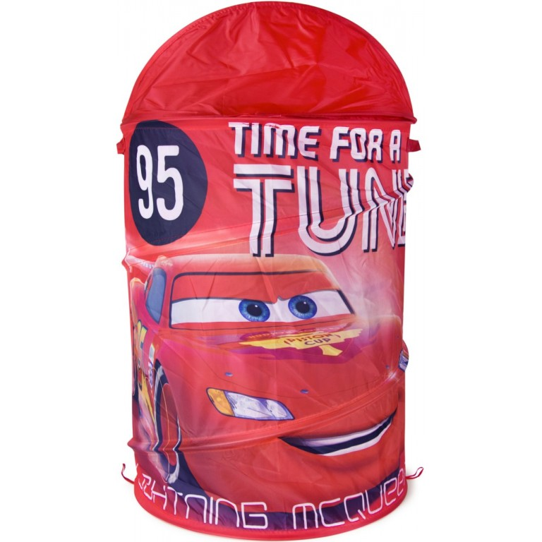 Корзина для игрушек Тачки 43 на 60 см