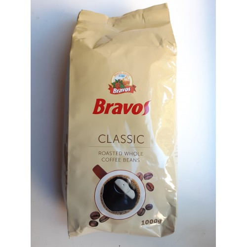 Кофе Bravos Бравос в зёрнах 1 кг