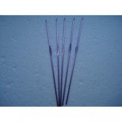 Крючки металлические цветные для вязания поштучно от 2 до 10 мм