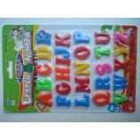 Магнитные английские буквы на планшетке 14 на 21 см