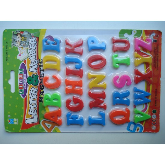 Магнитные английские буквы 14 на 21 см