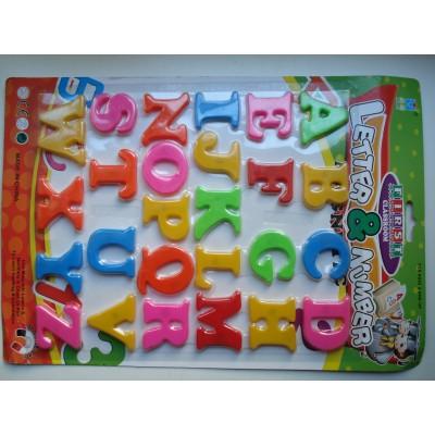 Магнитные английские буквы на планшетке 26 на 37 см