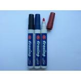Комплект маркеров для досок из трех цветов  черный синий красный Erasing