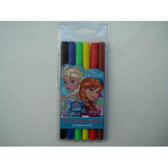 Фломастеры для досок на водной основе цветные Frozen в наборе 6 шт
