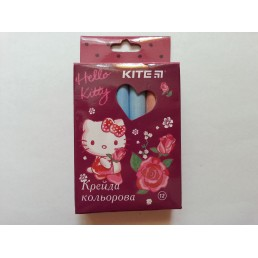 Мелки разноцветные для мольберта Hello Kitty 12 цветов