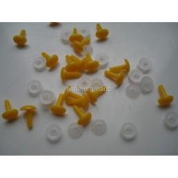 Носик желтый 6 мм