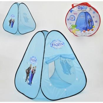 Палатка детская голубая Фрозен