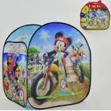 Палатка детская голубая большая Микки Маус