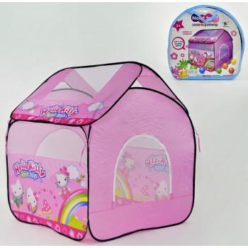 Палатка детская розовая Hello Kitty