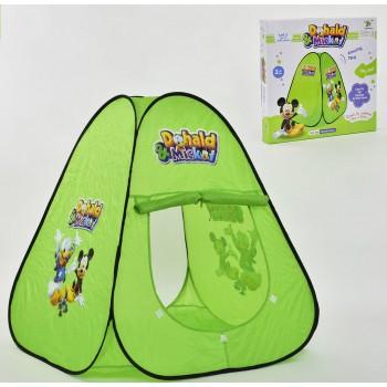 Палатка детская в коробке Дональд и Микки