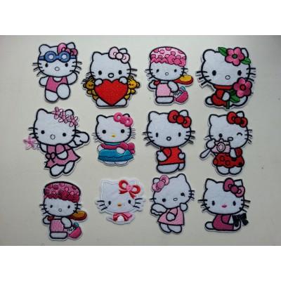 Термо-нашивка Hello Kitty в ассортименте