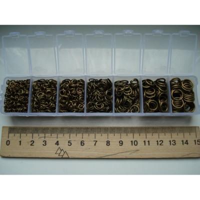 Кольца бронза от 4 до 9 мм
