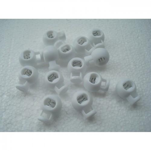 Стопперы белые 17 на 20 мм