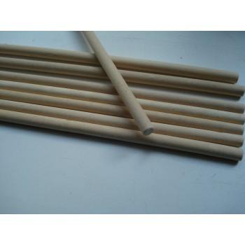 Деревянные палочки для рукоделия диаметр 14 мм длина 30 см