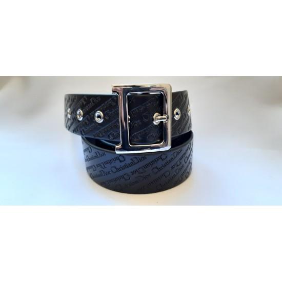 Ремень женский кожаный коллекция Christian Dior ширина 4 см длина 130 см