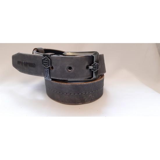 Ремень мужской кожаный коллекция PHILIPP PLEIN ширина 4 см длина 130 см Итальянская кожа