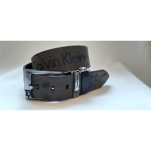 Ремень мужской кожаный CALVIN KLEIN 4.5 см ширина длина 130 см