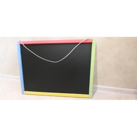 Холст доска настенная магнитная крашеная двухсторонняя