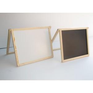 Доска для рисования двухсторонняя не магнитная
