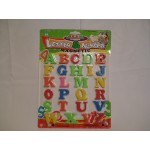 Магнитные английские буквы на планшетке 29 на 21 см