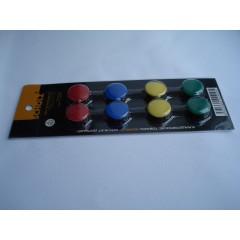 Крепеж магнитный из 8 шт разноцветный