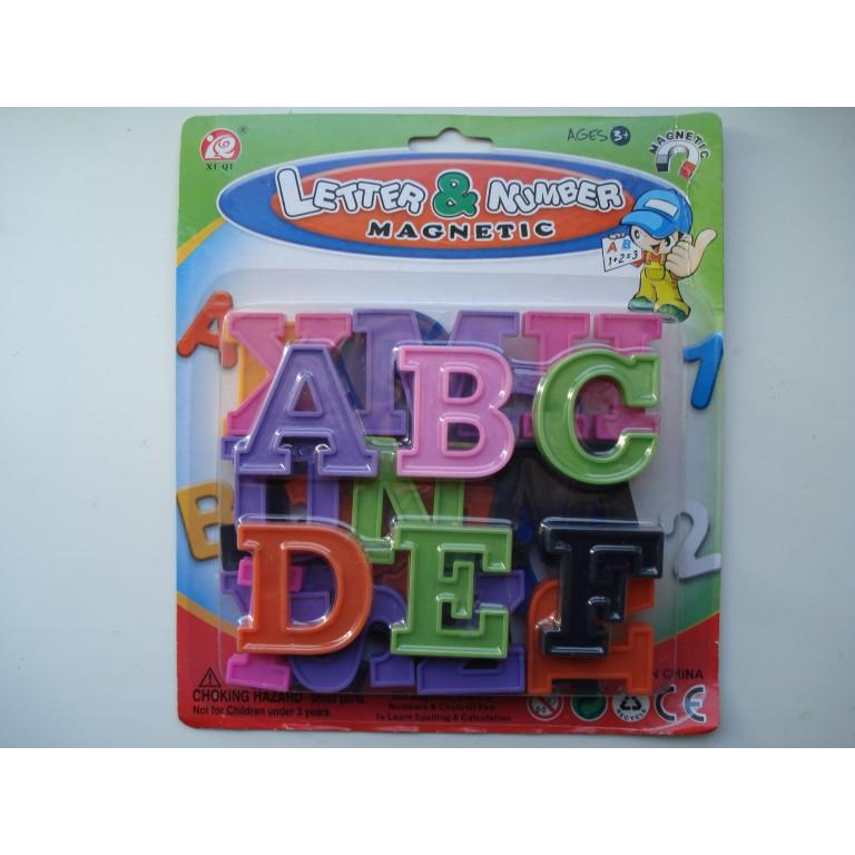 Магнитный английские буквы для мольбертов и досок Учимся читать