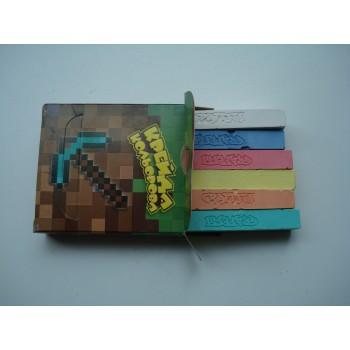 Мелки разноцветные для мольберта Рюкзачок 6 цветов