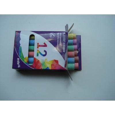 Мелки разноцветные для мольберта Kite 12 цветов