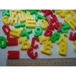 Магнитные буквы цифры крепеж для досок и мольбертов