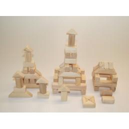 Деревянный городок на 60 элементов